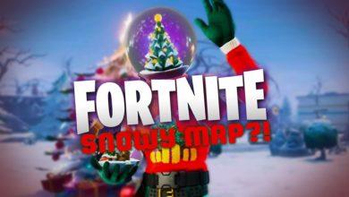 ¿Capítulo 2 de Fortnite: mapa cubierto de nieve nuevamente para Navidad?