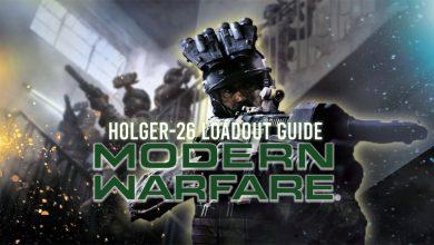 Call of Duty Modern Warfare Season 1: Guía de carga de Holger-26 (PS4, XBOX y PC)