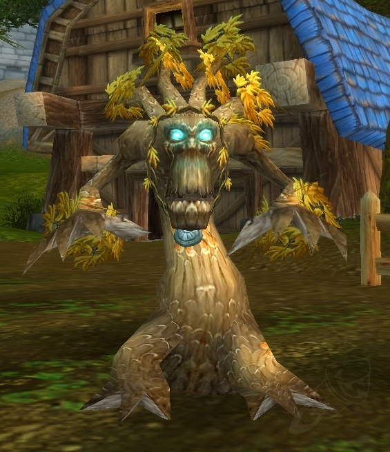 Druida en forma de árbol WoW