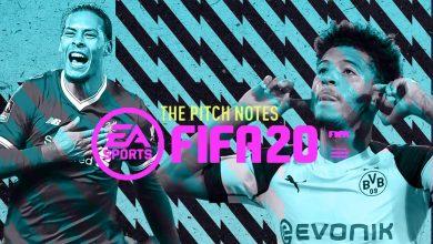 * ACTUALIZADO * FIFA 20 Pitch Notes: conectividad en línea mejorada - parche Division Rivals
