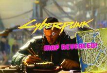 Photo of Cyberpunk 2077: el mapa revelado es mucho más pequeño que el de The Witcher 3