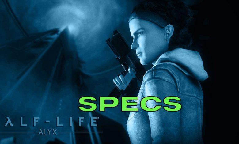 Especificaciones de Half-Life Alyx: PC, requisitos mínimos y más