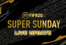 Photo of FIFA 20: Super Sunday – Promociones y actualizaciones en vivo para eventos FUT