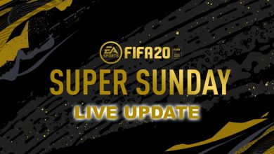 Photo of FIFA 20: Super Sunday – Promociones y actualizaciones en vivo para eventos FUT