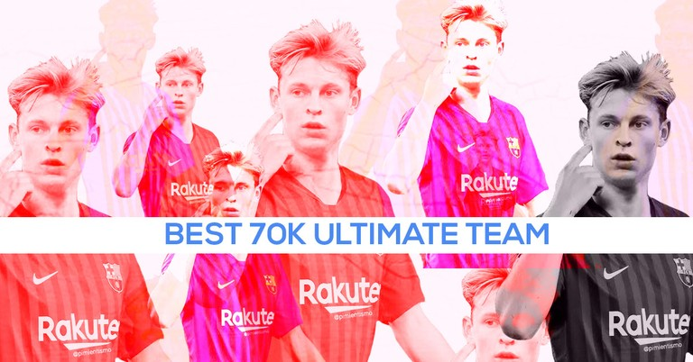 FIFA 20 Ultimate Team: el mejor equipo de 70k: De Jong, Dembele, Fekir y más