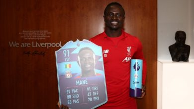 FIFA 20: noviembre POTM de la Premier League - Sadio Mané