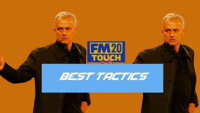 Football Manager 2020 Touch: mejores tácticas y formaciones para usar