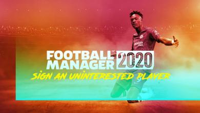 Football Manager 2020: cómo fichar a un jugador desinteresado