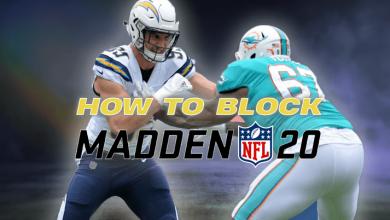 Madden 20: Cómo bloquear correctamente: equipos dobles y más