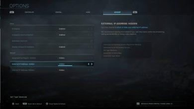 Modern Warfare: solución NAT estricta / moderada