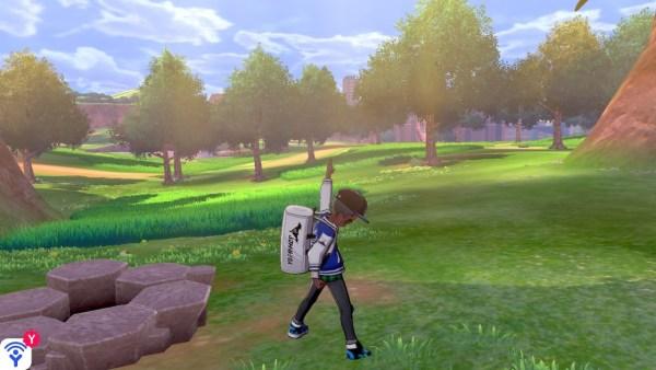 Espada Flygon y Pokémon Escudo