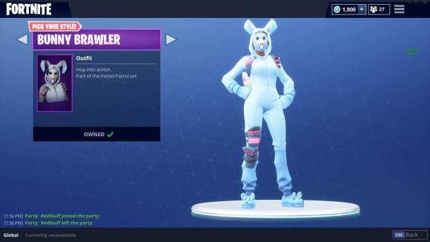 36. Bunny Brawler