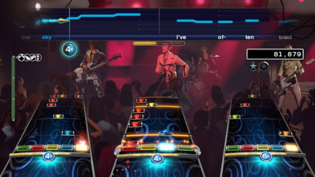 Groupe de rock 4