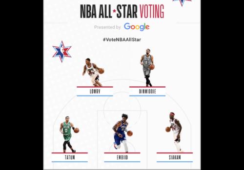 Asegúrese de votar en el equipo All-Star de la NBA