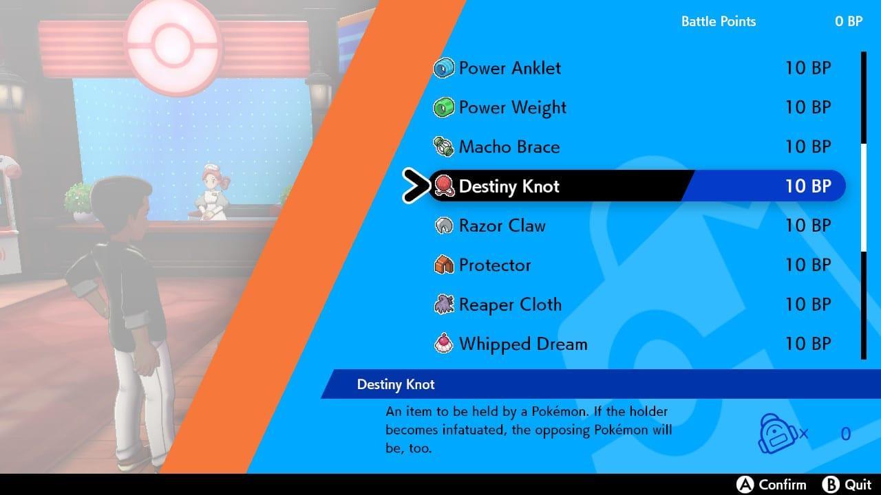 nudo de destino de espada de pokemon, nudo de destino de escudo de pokemon