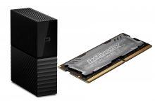 Disco duro externo con 8 TB y RAM para laptop con descuento en Amazon