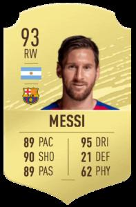 """Messi-fifa-21 """"srcset ="""" https://dlprivateserver.com/wp-content/uploads/2020/01/1578946232_348_FIFA-21-Ultimate-Team-ICONOS-clasificaciones-jugabilidad-nuevas-funciones-aplicacion.png 197w, https://realsport101.com/wp-content/ uploads / 2020/01 / Messi-fifa-21-329x500.png 329w, https://realsport101.com/wp-content/uploads/2020/01/Messi-fifa-21-360x547.png 360w, https: // realsport101.com/wp-content/uploads/2020/01/Messi-fifa-21-545x828.png 545w, https://realsport101.com/wp-content/uploads/2020/01/Messi-fifa-21.png 600w """"tamaños ="""" (ancho máximo: 197px) 100vw, 197px """">   <p>No hay premios por adivinar a quién predecimos como el hombre número uno en FIFA 21: es el fenómeno futbolístico Lionel Messi.</p> <p><strong>LEER MÁS: FIFA 20 Ultimate Team: todas las transferencias y predicciones confirmadas</strong></p> <p>Messi ha producido 13 goles y seis asistencias en 14 juegos en La Liga en lo que va de la temporada y recientemente ganó el balón. Sin embargo, debido a su edad y su falta de éxito europeo recientemente, esperamos que su calificación general baje a 93.</p> <h2>Cristiano Ronaldo (OVR 92)</h2> <p> <img src="""