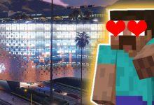 Photo of El casino de lujo de GTA Online en Minecraft se ve tan increíble