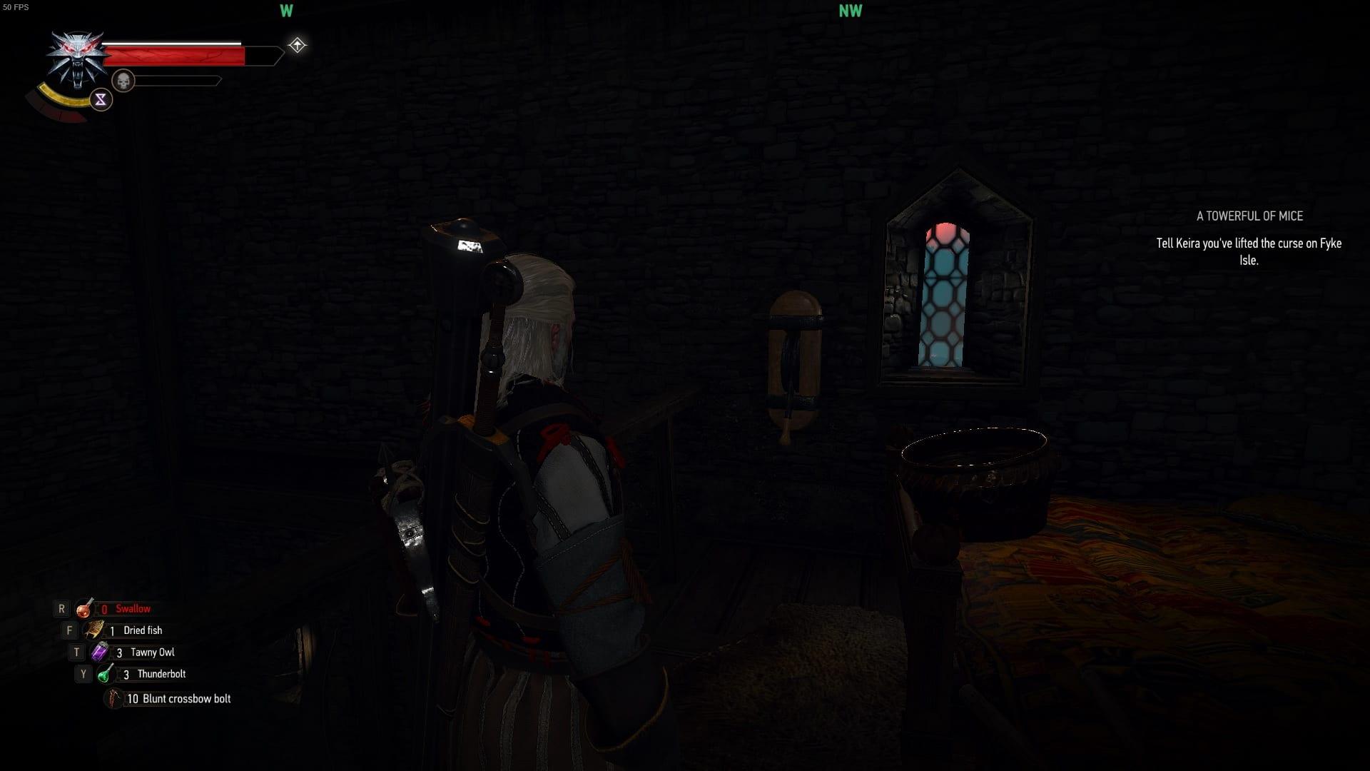 Witcher 3 Torre de ratones