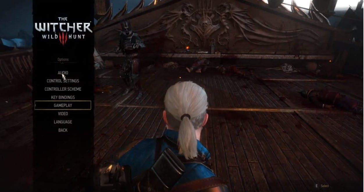 Guía de dificultad de Witcher 3