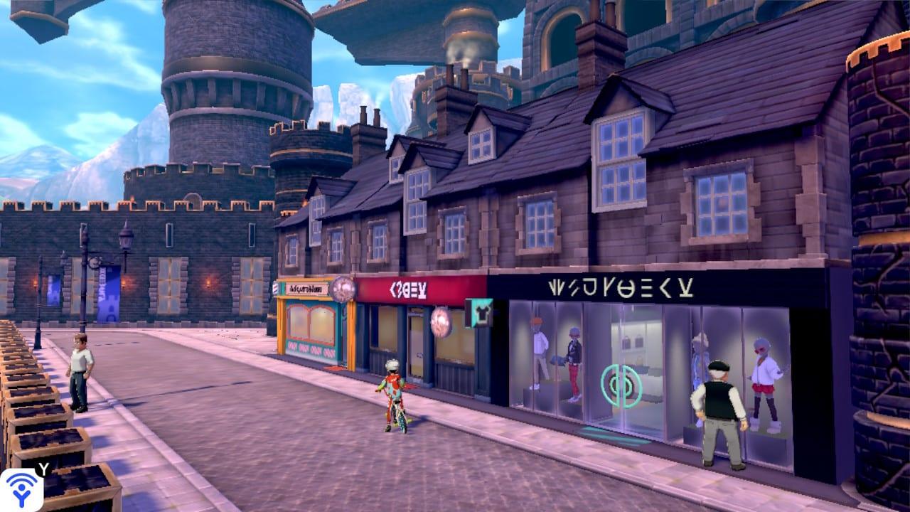 Pokemon Sword y Shield Battle Cafe Lugares