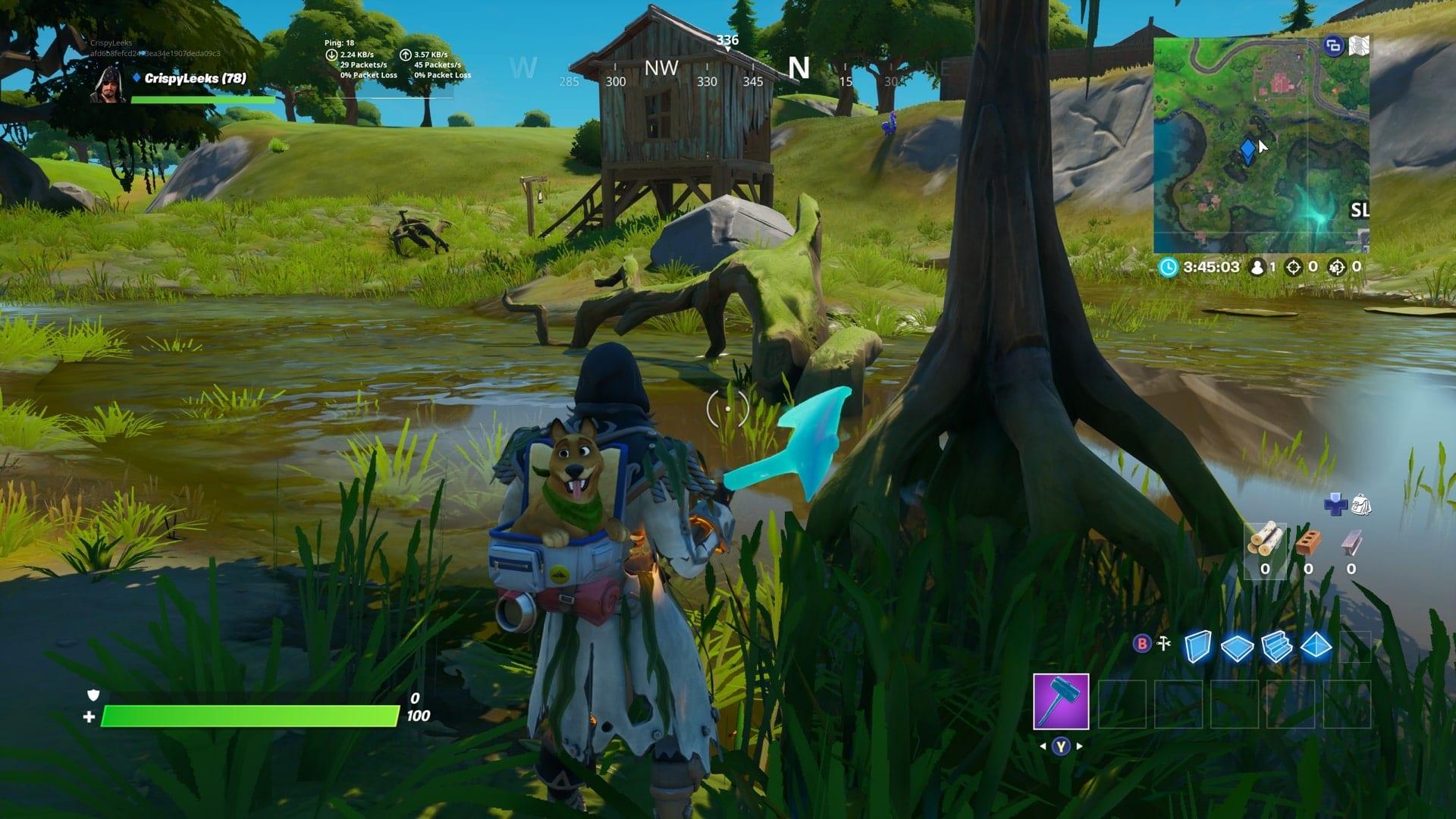 Fortnite Gnome Hidden Lodjam Woodworks