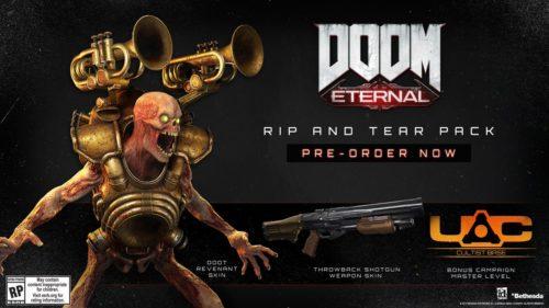 El paquete de pedidos anticipados para Doom Eternal