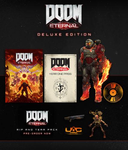 El paquete para la edición de lujo de Doom Eternal