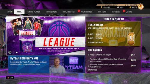 MyTeam de la NBA 2K20