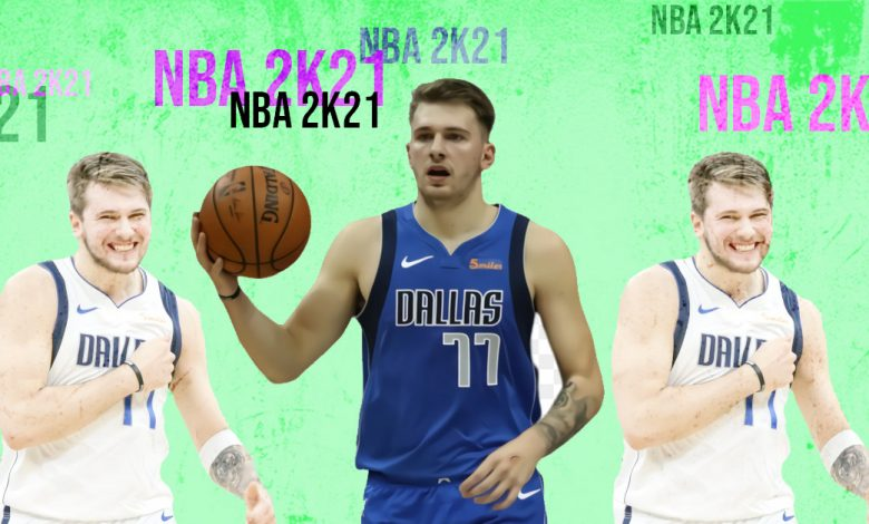 NBA 2K21 potential cover star Luka Doncic