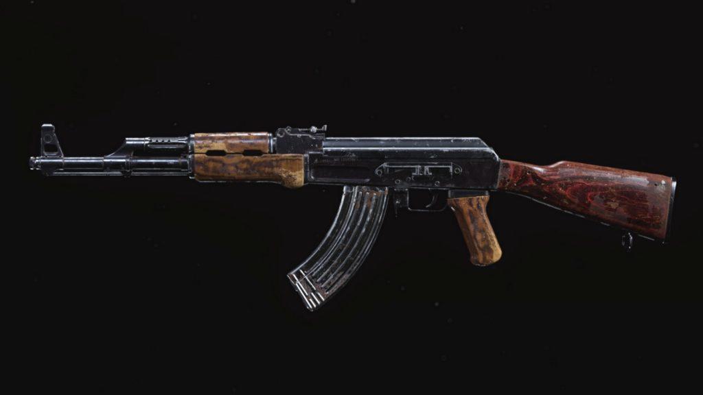 bacalao armas de guerra modernas ak-47