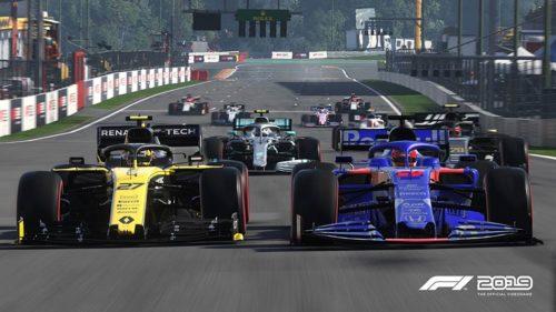 Los juegos de F1 ofrecen acción de rueda a rueda