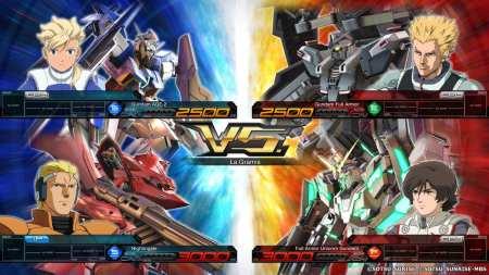Mobile Suit Gundam Extreme VS. Maxiboost activado (2)