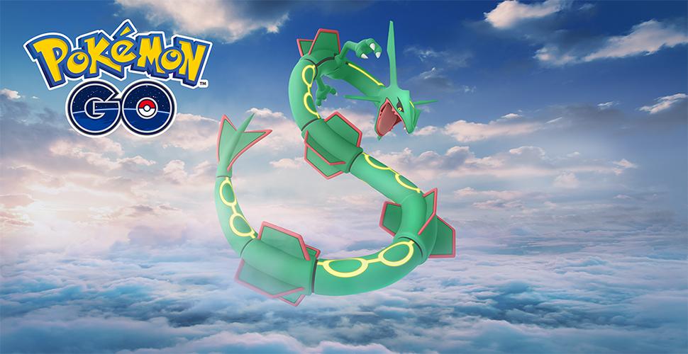 Título de Pokémon GO Rayquaza