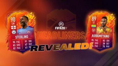 Photo of * BREAKING * Jugadores del Equipo 2 de los Headliners de FIFA 20: se revelan todas las nuevas cartas de Ultimate Team: Aubameyang, Sterling, Werner y más