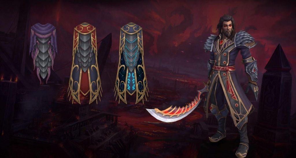 WoW Legendary Cloaks Parche 83 Wrathion