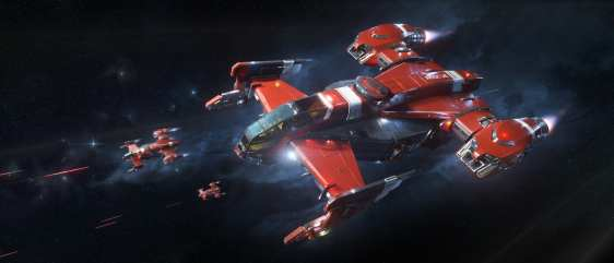 Ciudadano estrella Drake Cutlass RED (8)