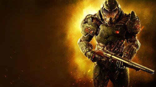 Doom (2016) cubierta