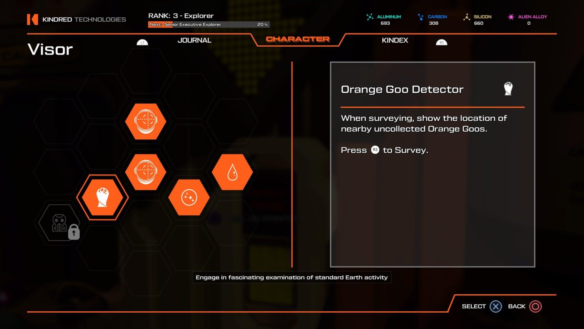 viajar al planeta salvaje goo orange