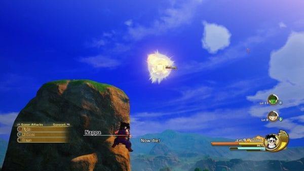dragon ball z kararot, carga de energía, ki