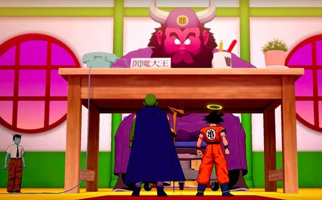 Dragon Ball Z Kakarot King Yemma respuestas del cuestionario