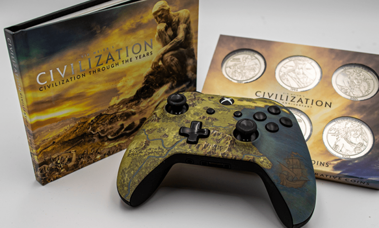 Este controlador oficial de Civilization VI Xbox One es hermoso; Aquí está cómo ganarlo