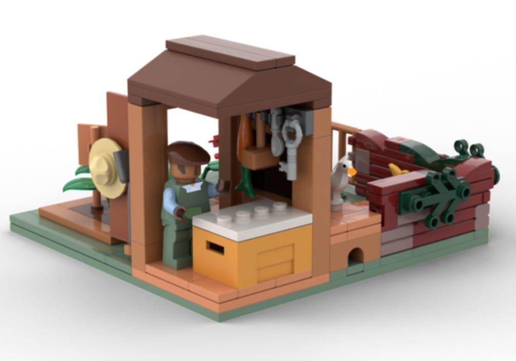 juego de ganso sin título lego set build