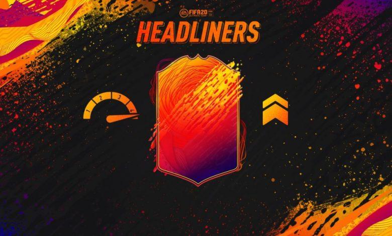 FIFA 20: HeadLiners - Detalles oficiales