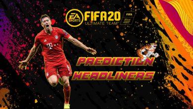 FIFA 20: HeadLiners - Protagonistas de predicción
