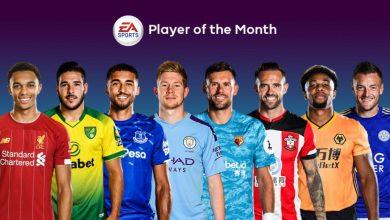 FIFA 20: Nominación POTM de diciembre de la Premier League