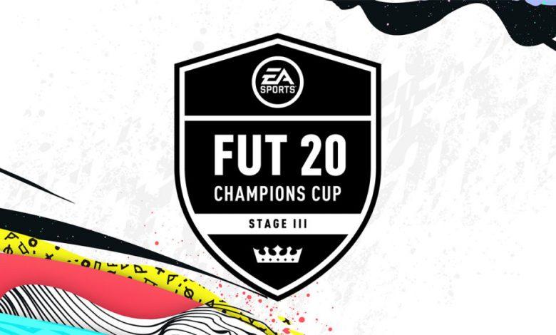 FIFA 20: Premios que se ganarán durante la transmisión en vivo de la FUT Champions Cup Stage III