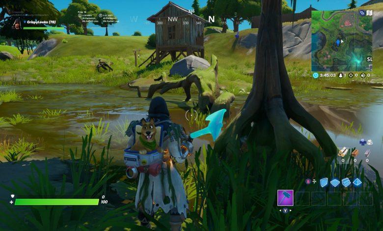 Fortnite: busca un gnomo escondido entre la carpintería de Lodjam, la cabaña de madera, la ubicación del árbol del cubo