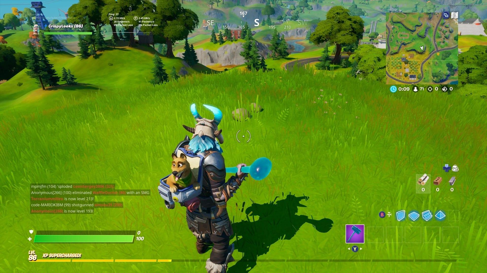Fortnite Hidden Gnome Ubicación