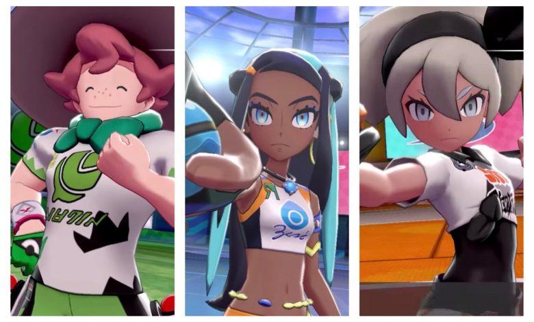 Los líderes más elegantes del gimnasio de espada y escudo Pokémon, clasificados